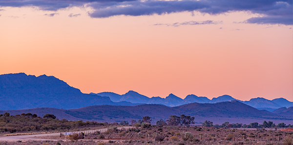Flinders Ranges in SA