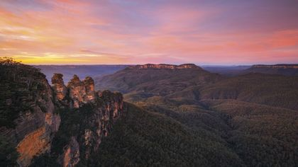 Blue Mountains and Sydney Couples, short breaks and river cruise holiday experience